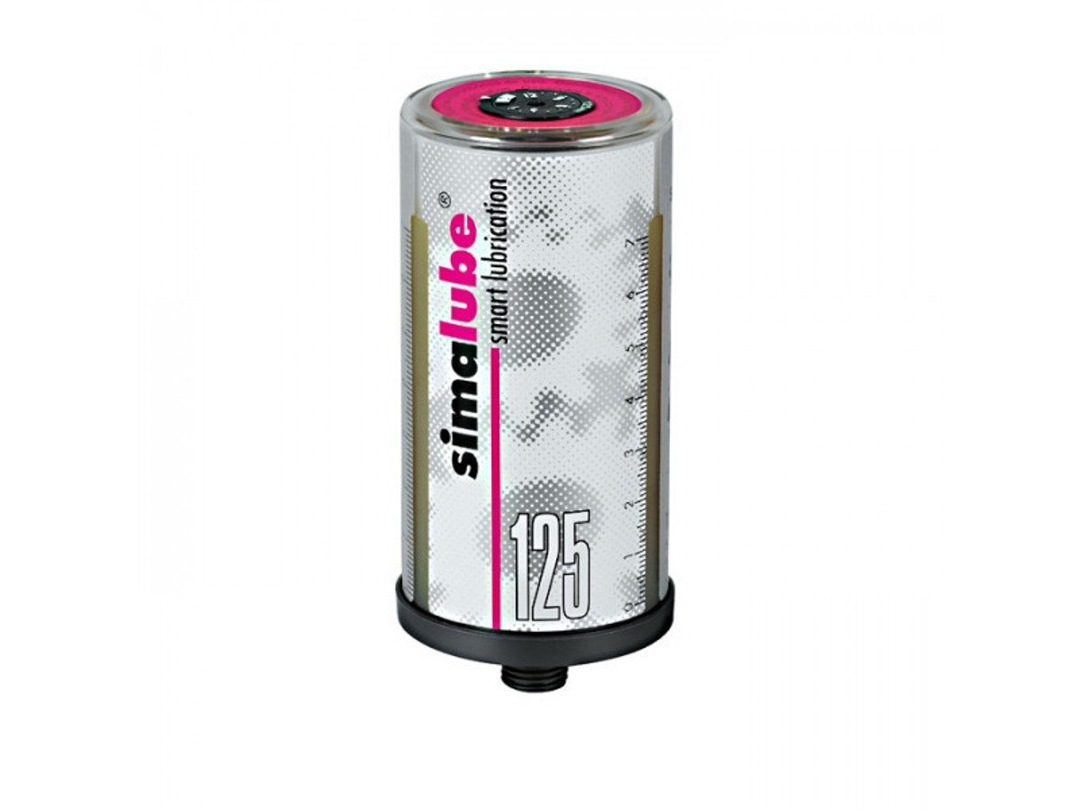 Simatec Simalube 125ML Automatic Single Point Bearing Lubricator 10 PCS (Multipurpose Grease)