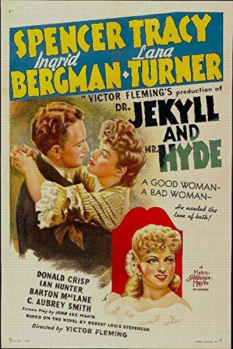 Dr. Jekyll and Mr. Hyde, Spencer Tracy, Ingrid Bergman, Lana Turner, Donald Crisp, 1941 - Premium Movie Poster Reprint 8