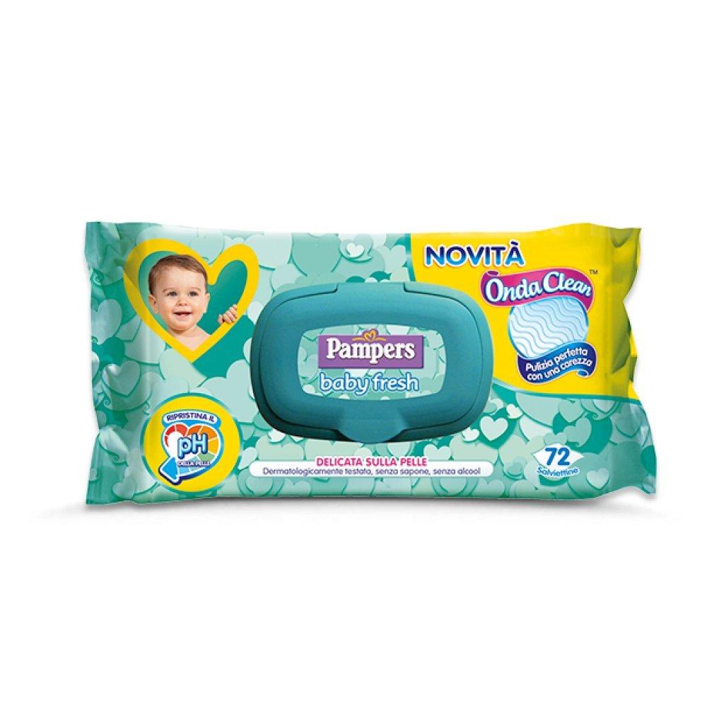 Pampers bebé Fresh Wipes Toallitas 216 piezas: Amazon.es: Salud y cuidado personal