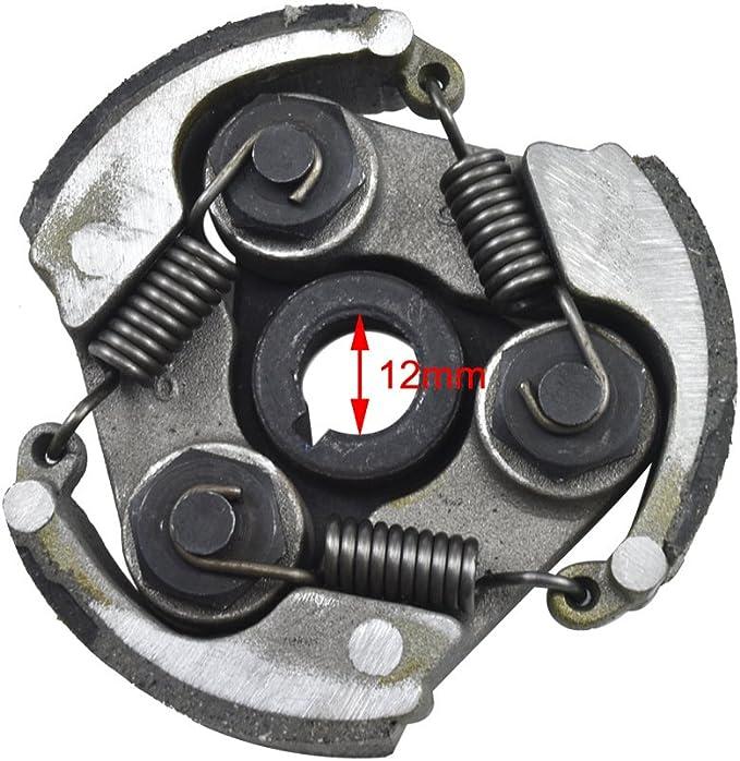 75mm Minimoto Centrifugal 3 Shoe Clutch Springs Plate 47cc 49cc Dirt Bike ATV