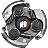 Generique Embrayage Plaque Centrifuge 43 cc 47 cc 49 cc quad Minimoto Pocket Bike Mini Moto Quad ATV Scooter