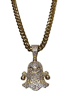 Available in Yellow Necklaces /& Bracelets White Guarantee On Color and Shine Rose Gold ICYCLOUT 15MM Reversible Cuban Design Hand-Made in Italy