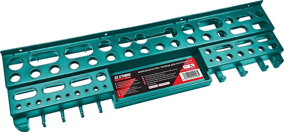 610 x 160 x 60 mm Charge max pinces 25 kg Pour le rangement de cl/és /Étag/ère Murale Porte-outils STARK tournevis