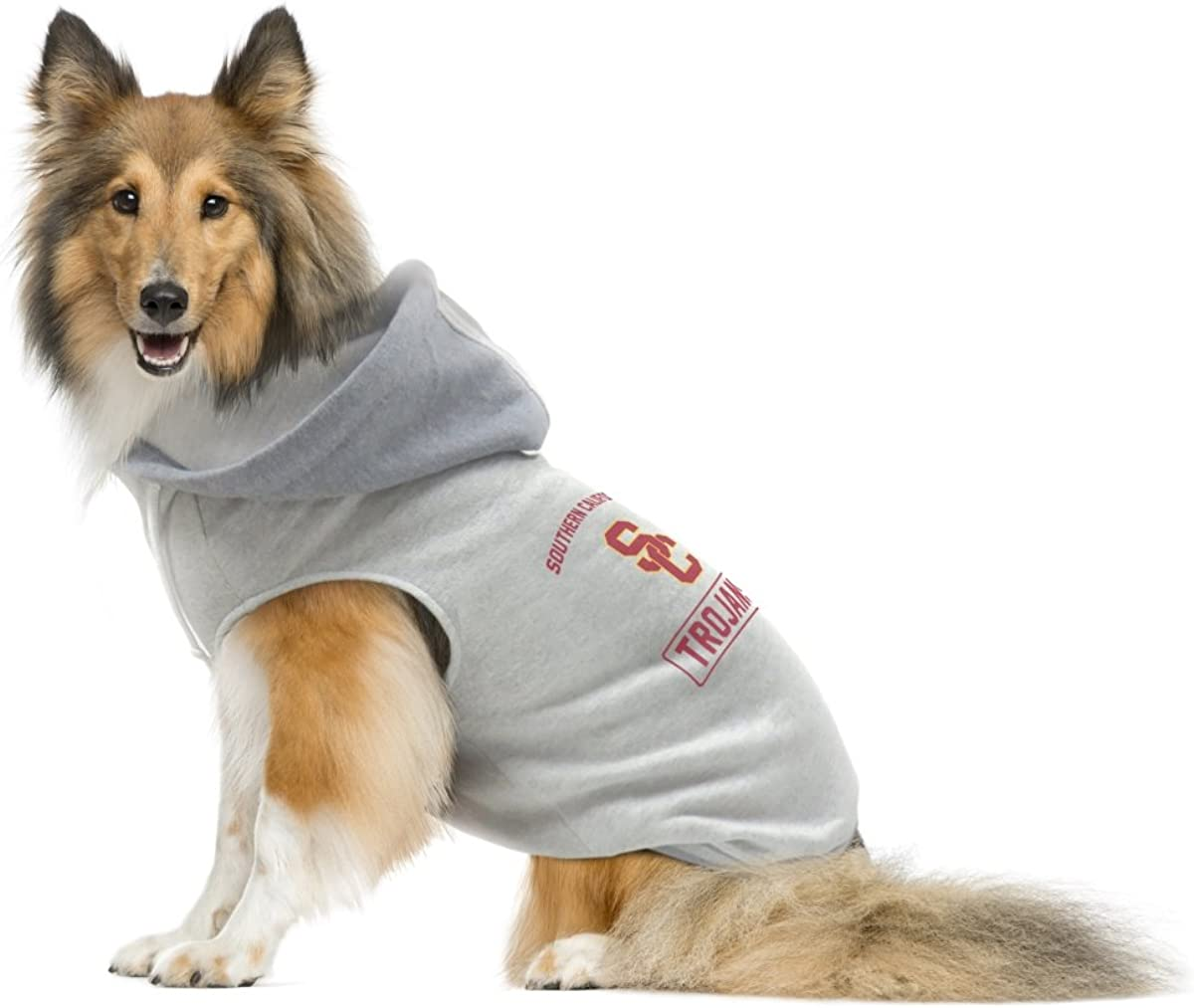 Hoodie Sweatshirt Designed for Dogs and Cats Littlearth NCAA Unisex NCAA Pet Hoodie Crewneck Sweatshirt