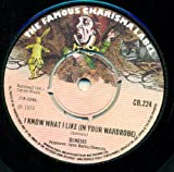 i know what i like (in your wardrobe) / twilight alehouse 45 rpm single