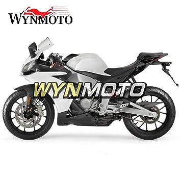 ... blanco Pearl negro Kit para Aprilia RS125 2012 2013 2014 RS4 50 12 13 14 Sportbike embellecedores de inyección de plástico ABS: Amazon.es: Coche y moto