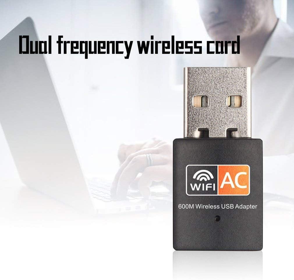 Ac600M Dual-Band Wireless Network Card 5G Mini USB Computer WiFi Signal Receiving Transmitter Rtl8811Cu