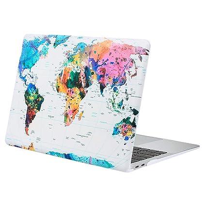 MOSISO Funda Dura Compatible 2019 2018 MacBook Air 13 ...