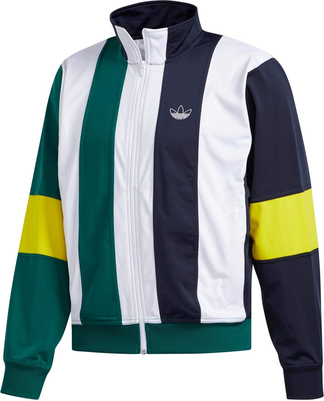 Bleu marine blanc vert L adidas Bailer TT GIACCHETTO hommes Bianco EJ7114