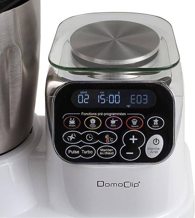 DomoClip DOP166 - Robot de cocina con calefacción todo en uno: Amazon.es: Hogar