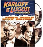Karloff & Lugosi Horror Classics (The Walking Dead / Frankenstein 1970 / You'll Find Out / Zombies on Broadway) [Import]