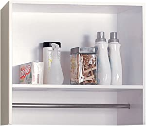 Foremost BEWS2712 Berkshire White Laundry Room Wall Shelf