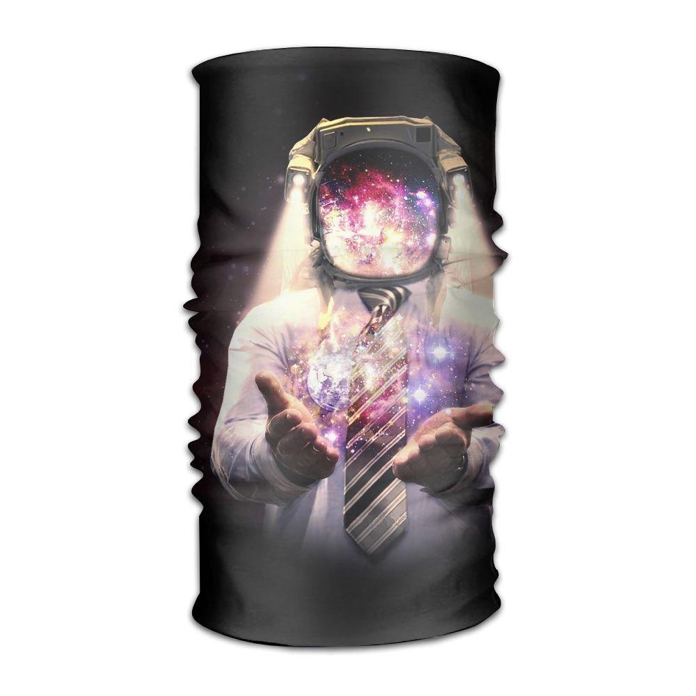 Owen Pullman Multifunctional Headwear Astronaut Helmet Tie Head Wrap Elastic Turban Sport Headband Outdoor Sweatband