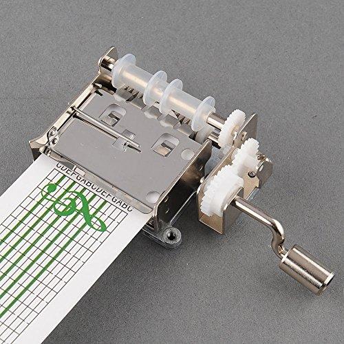 DIY Manivelle Music Box mécanique Trou Musical Puncher bandes de papier NOUVEAU (20 Notes Set)