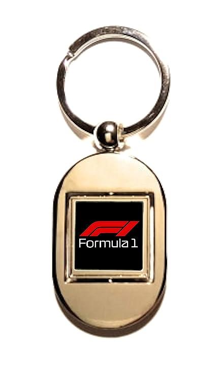 Print Corner Llavero Wankel de Metal Plateado - Formula 1 ...