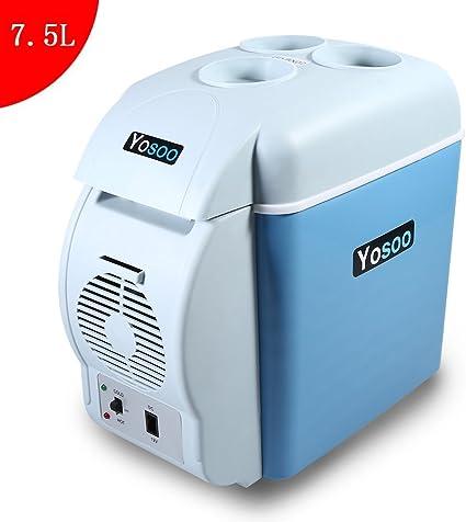 Amazon.es: Yosoo 7.5L Mini Refrigerador y Calentador Portátil de ...