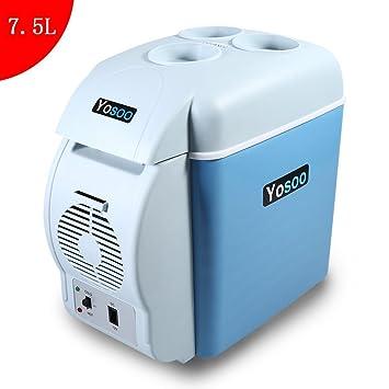 7.5L Mini Refrigerador y Calentador Portátil de Coche (Una Máquina con Doble Función)