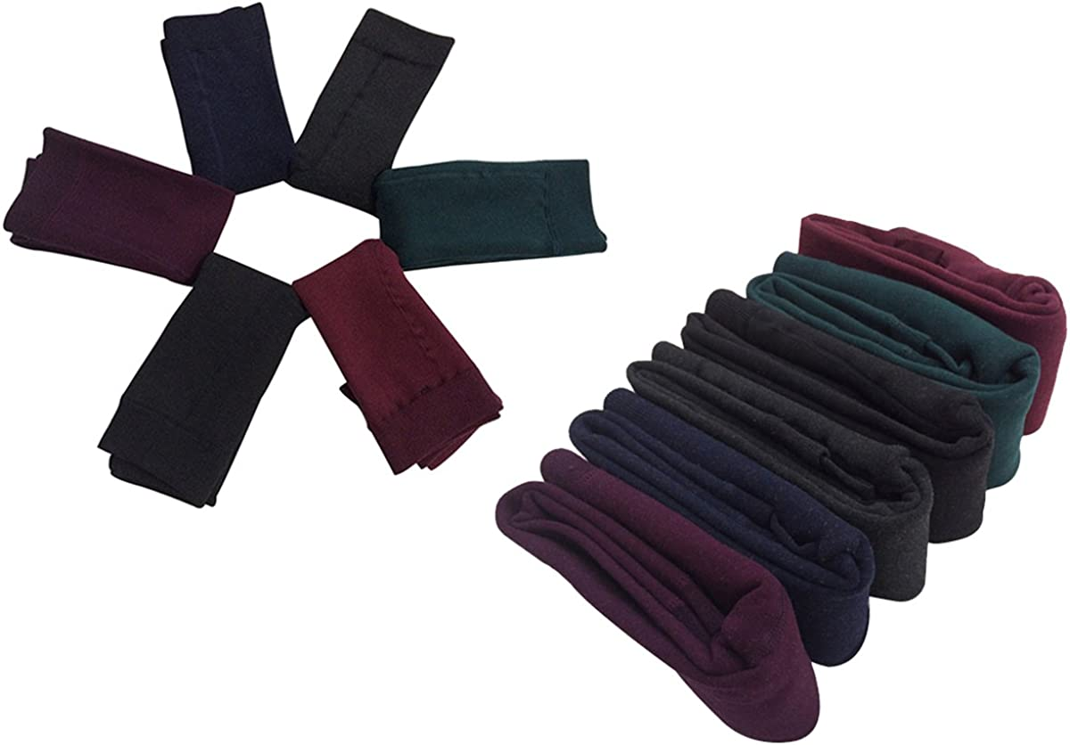 Yodensity per 4-12 anni Leggings invernali da bambina caldi e spessi elasticizzati