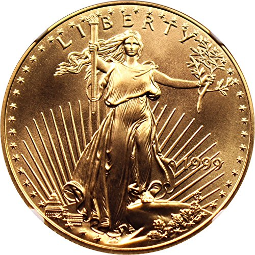 1999 $50 Gold Eagles Gold Eagle Fifty Dollar MS70 NGC