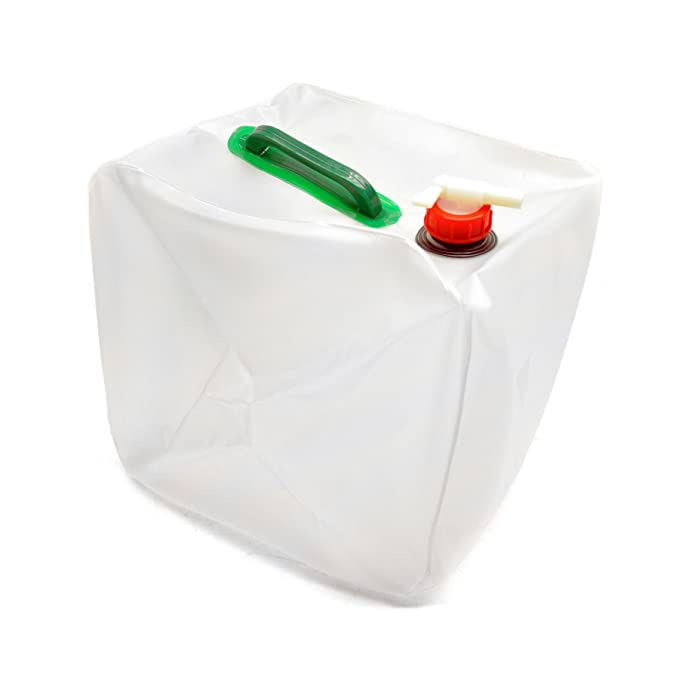20 Litre Collapsible Water Container Carrier Storage with Tap /& Holders Camping