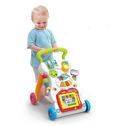ChenYongPing Juguetes interactivos para niños Caminante para bebés ...