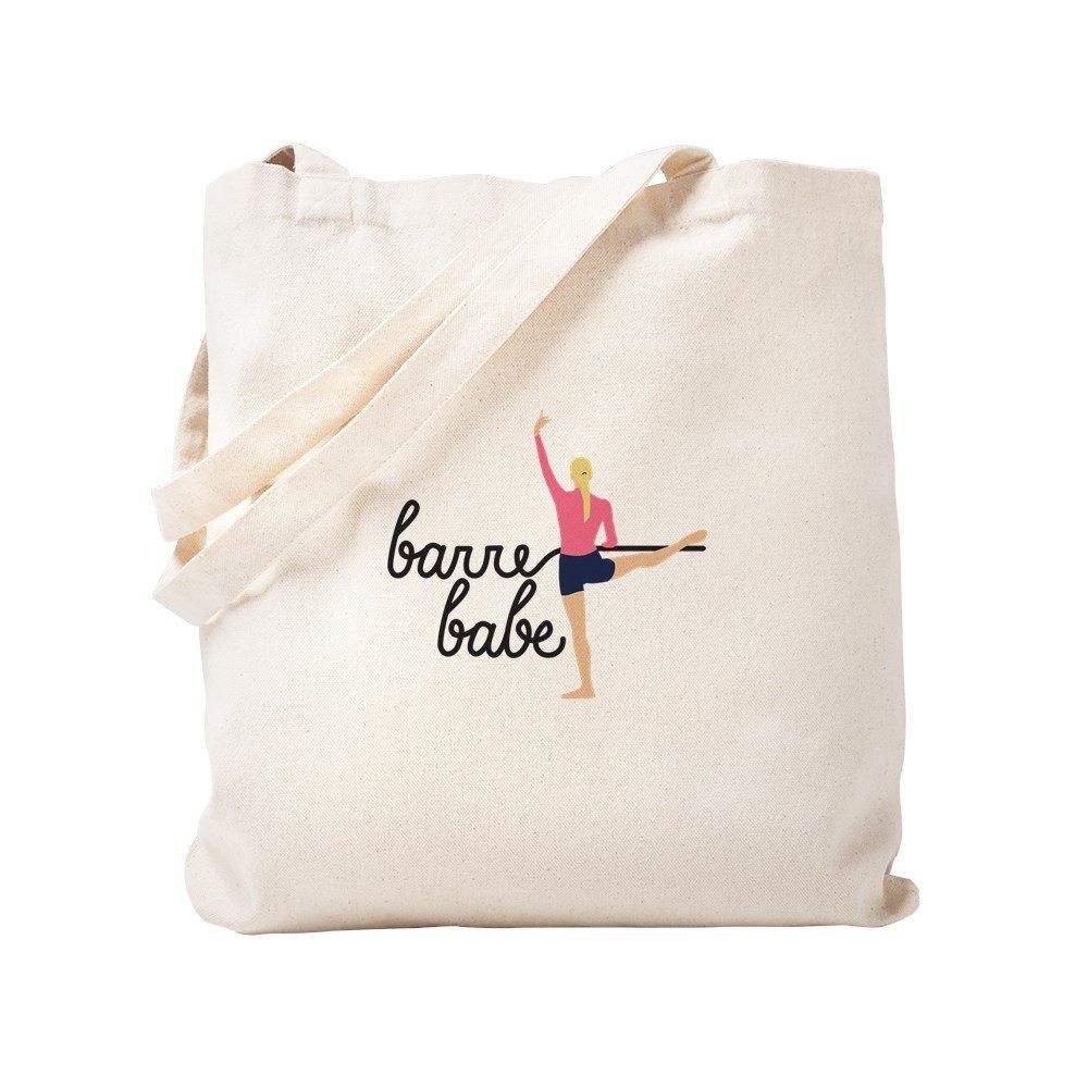 CafePress – Barre Babe – ナチュラルキャンバストートバッグ、布ショッピングバッグ S ベージュ 1536084065DECC2 B0773QP7PL S