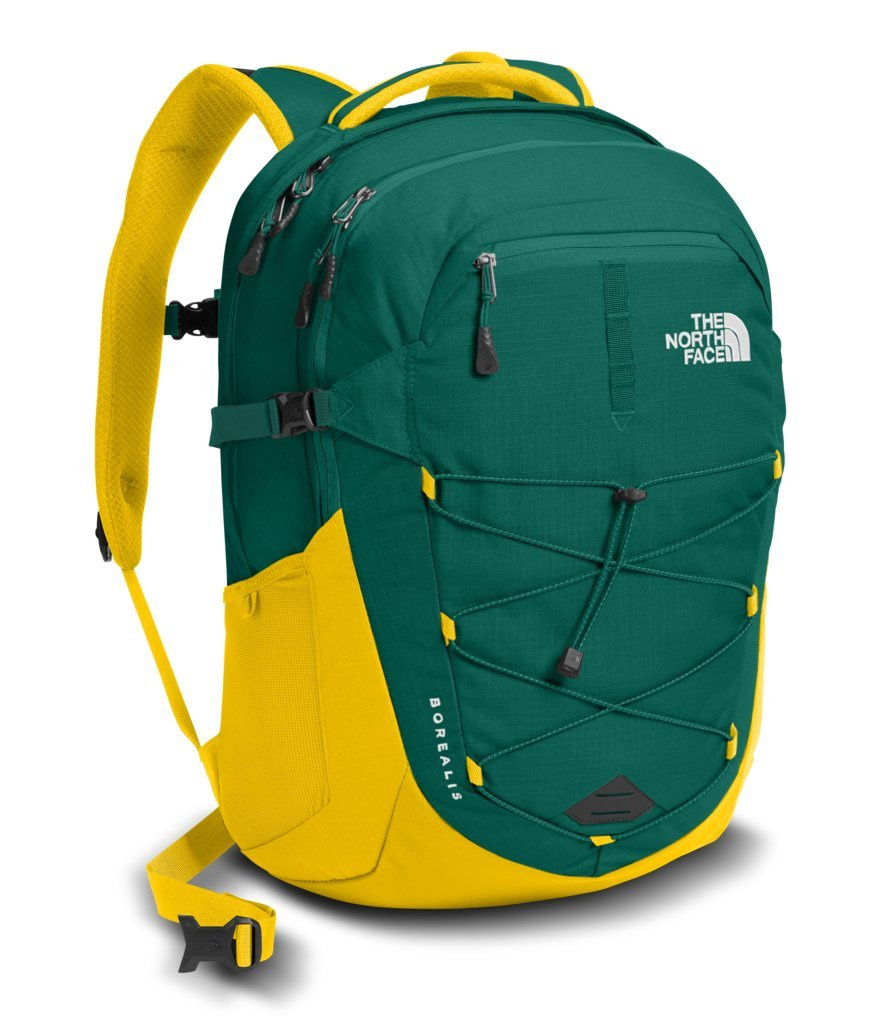 c12dc6ca09c Galleon - The North Face Unisex Borealis Night Green/Canary Yellow One Size