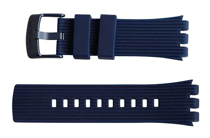 """Original Swatch Digital Touch pulsera """"Swatch Touch Dark Blue asurn101"""