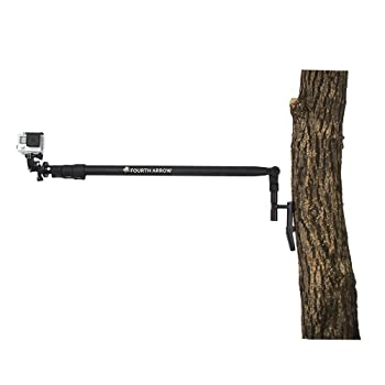 Fourth Arrow Telescoping Lightweight Six Foot Outreach Arm and Arm Base for Point of View Cameras