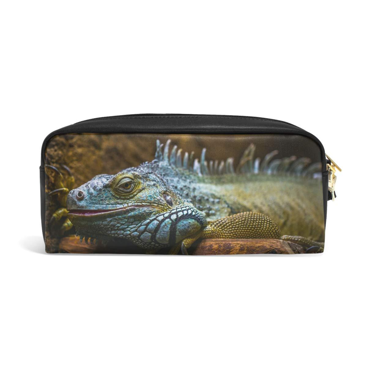 Amazon.com: MUOOUM Lizard Reptil Wildlife Estuche para ...