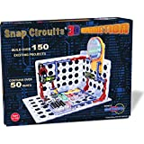 Snap Circuits 3D Illumination Electronics Discovery Kit - Introduction to Electronics and Electricity - Compatible with All