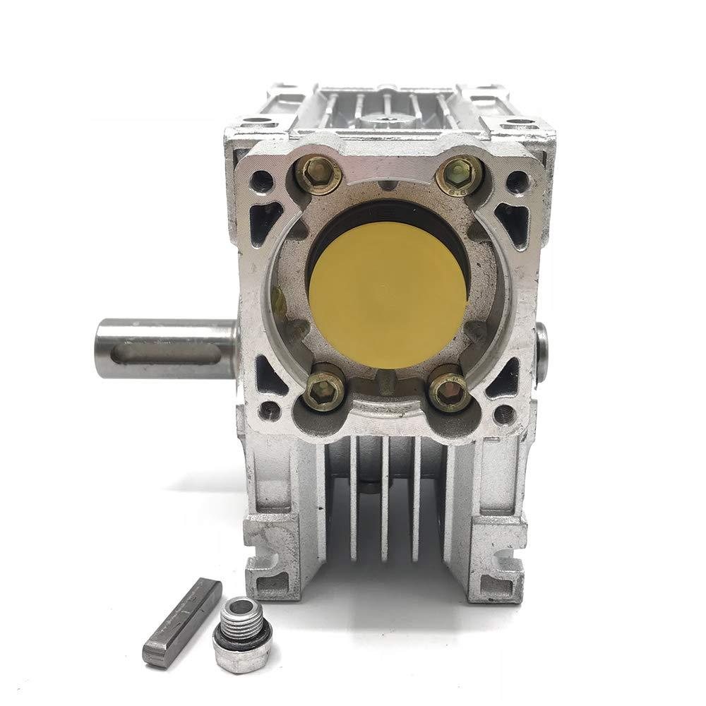 Worm Gear Speed Reducer NEMA34 Servo Stepper Gearbox Ratio 10:1 for Stepper Motor