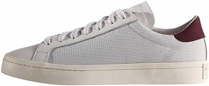 tratar con educador mero  Adidas Originals Court Vantage Tennis Sneaker Schuhe weiß (vintage white):  Amazon.de: Sport & Freizeit