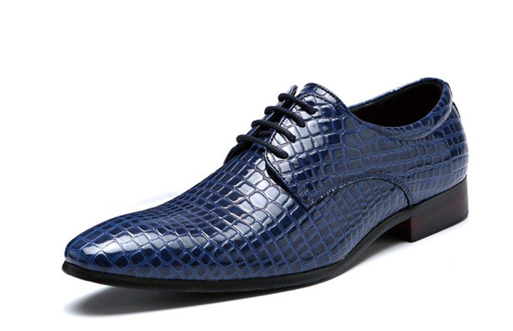 RENMEN Mode Serpentine Herrenschuhe Herrenschuhe Herrenschuhe Lace-up Low-Cut-Schuhe Business Fashion Herrenschuhe 38-47  e93453