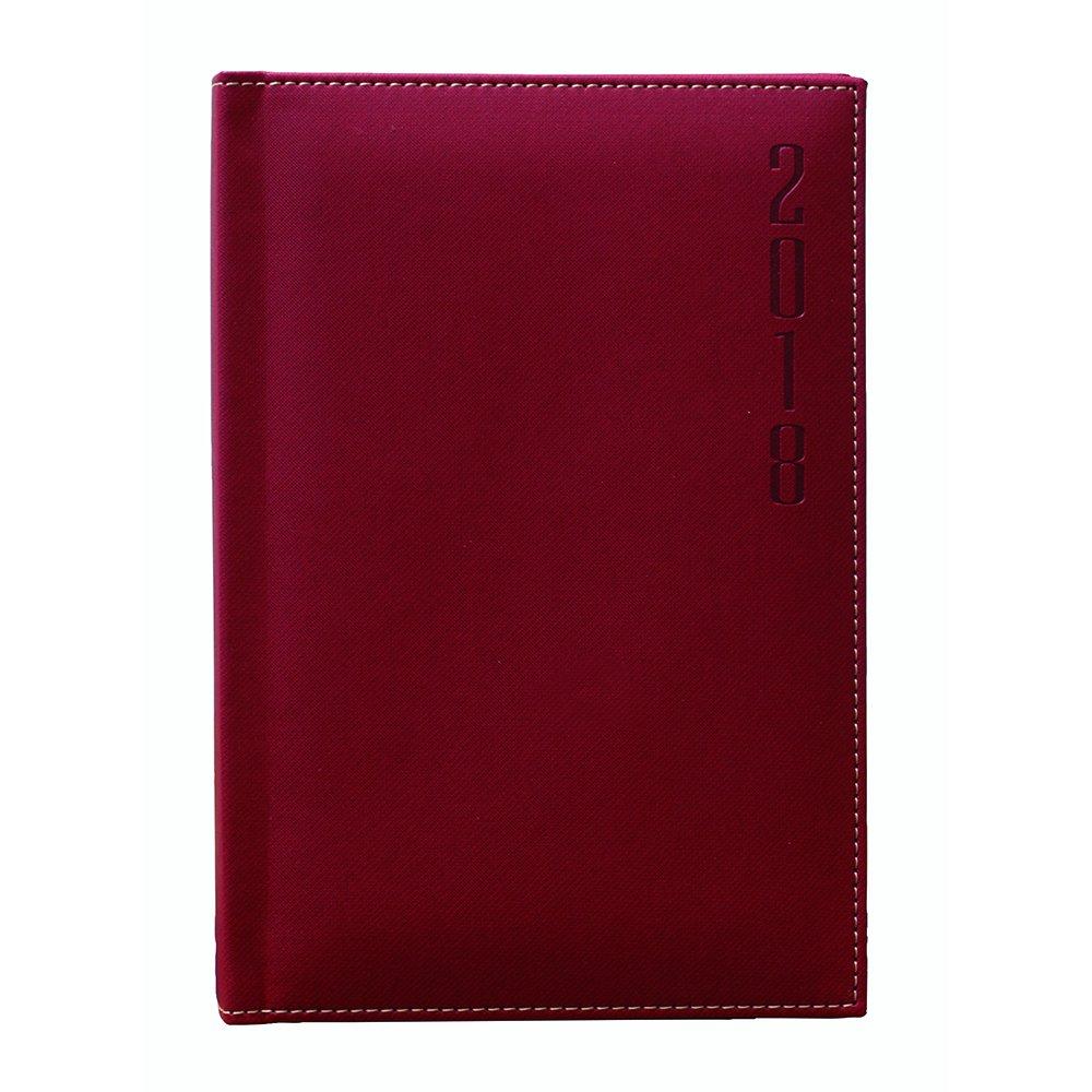 Makro Paper 002504 - Agenda 2018, 150 x 210 mm, color rojo ...