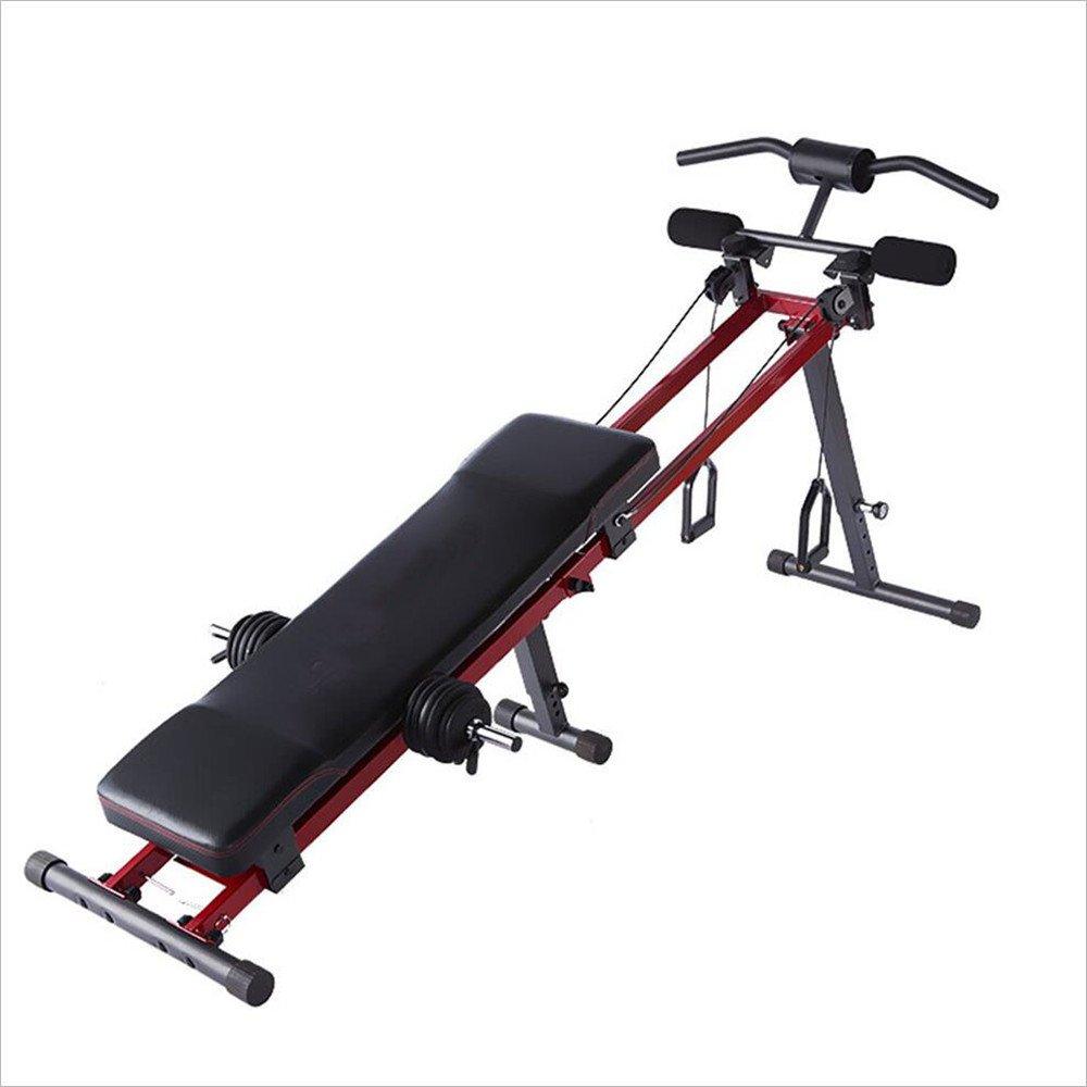 腹筋マシーン 仰臥位ボード腹筋フィットネス機器ホーム腹部多機能腹筋ダンベルベンチ 筋力トレーニング