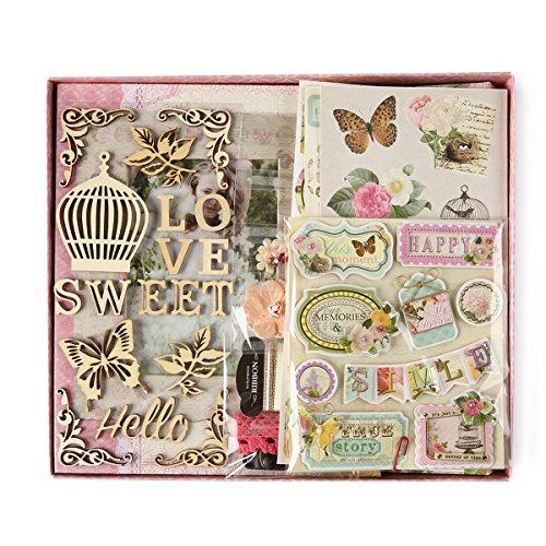 FaCraft Love Scrapbook Kit for Girls (8x8