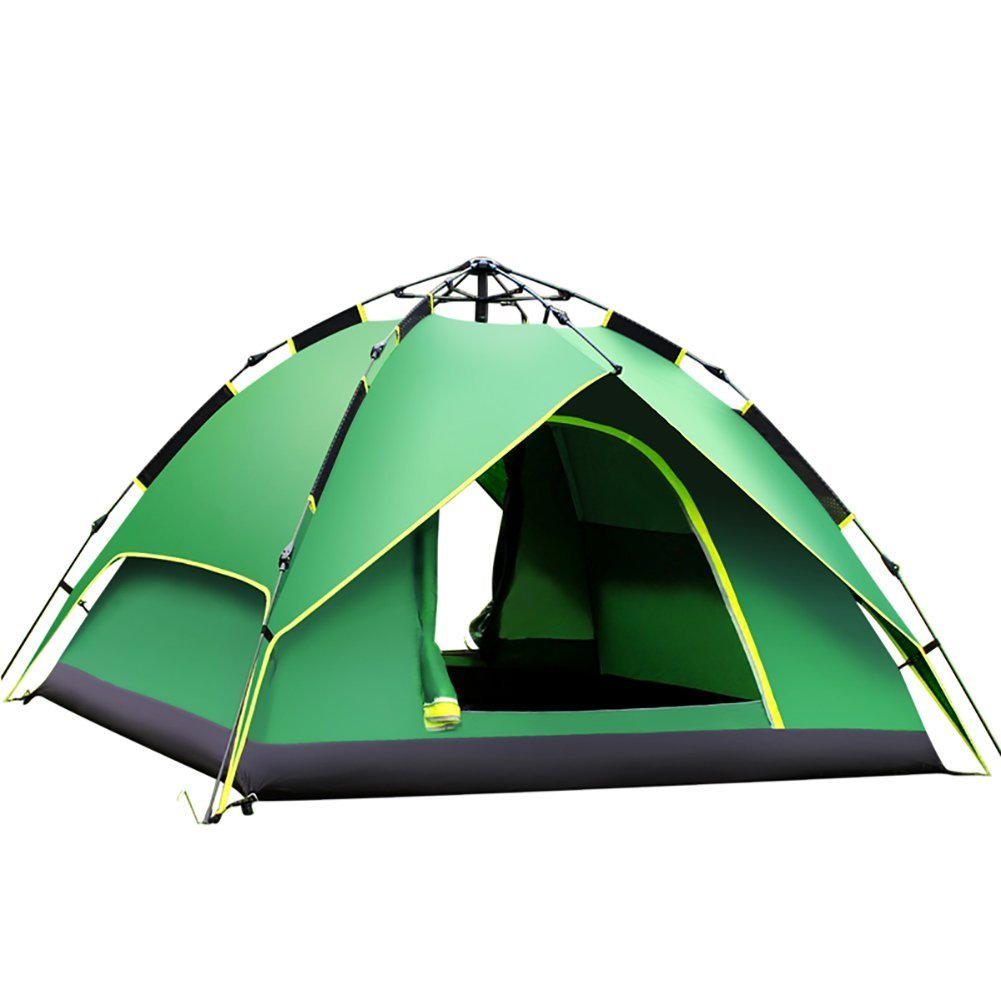 ERMEI Zelt Camping Outdoor Camping 3–4 Personen Single 2 Personen Automatische Outdoor Zelt Regendicht