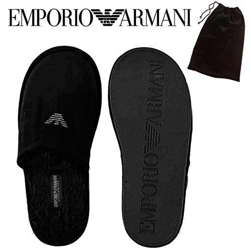 donna grandi affari sconto del 50 Emporio Armani, Pantofole uomo Nero nero X-Large: Amazon.it ...