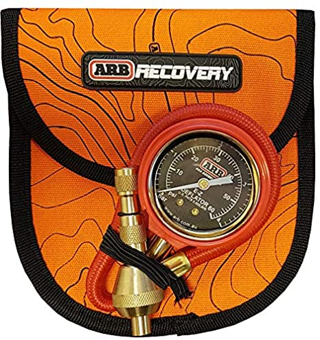 ARB ARB600 EZ Deflator with Bar/Psi Gauge Include Recovery Gear Bag