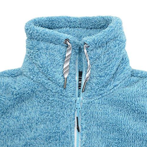 Icepeak Fleecejacke Karmen für Damen, Farbe:Blau;Bitte Größe wählen:36