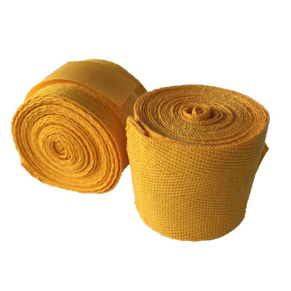 Provide The Best Suministros de Mano del algod/ón Wraps Boxeo punzonado mu/ñeca Vendajes Handwraps Protecci/ón Hombres Mujeres Deporte