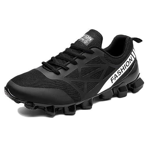 Zapatillas Trail Running para Mujer Sports Fitness Sneakers Outdoor Lowrise ClassicSummer Zapatillas Asimétricas Transpirables para La Absorción De ...