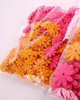 200 Stück Filz Blumen Applikation Filz Patches Verzierung diy Handwerk