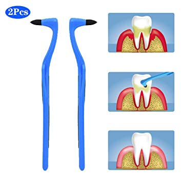 Teeth Stain Remover Dental Plaque Eraser Dentary Stains Scraper Removing Too