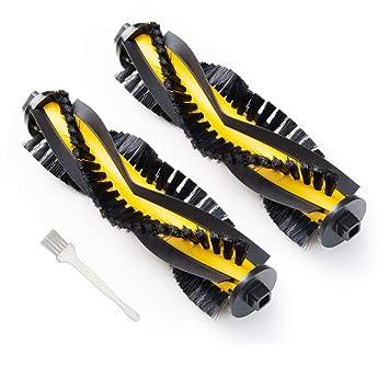 Sweet D Cepillo Principal para Conga Excellence Eufy RoboVac 11 RoboVac 11c Cepillo de Rodillo para Ecovacs Deebot N79 N79s Accesorios, Paquete de 2: ...