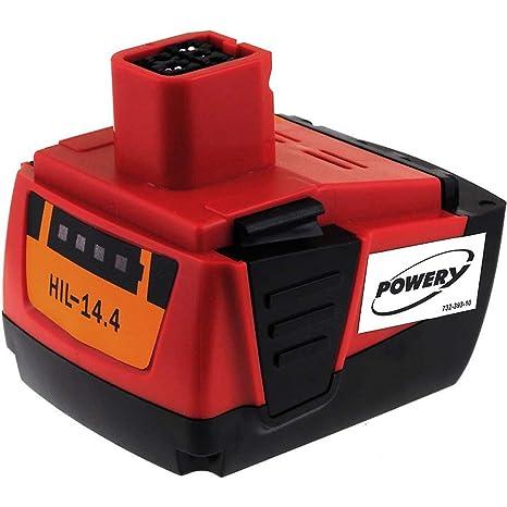 vhbw batería 4000mAh para herramienta Hilti SF 144-A CPC ...