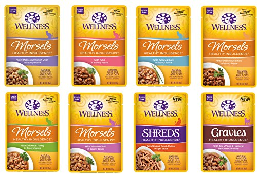 Wellness Healthy Indulgence Grain-Free Variety Pack - 8 flav