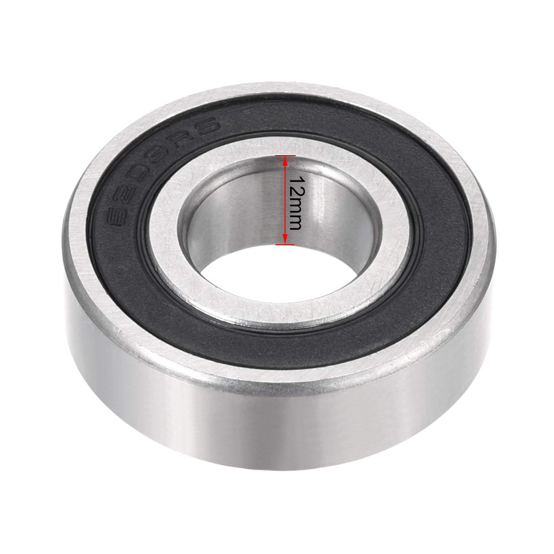 sourcing map 6200Z 10mm x 30mm x 9mm Double Shielded Ball Bearing