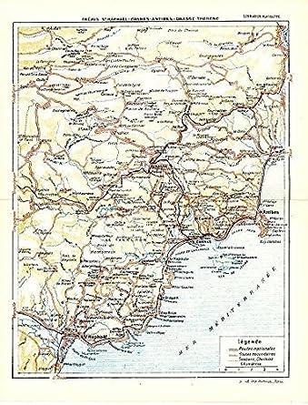 St Raphael France Map.Amazon Com St Raphael To Antibes French Coast 1943 World War Ii